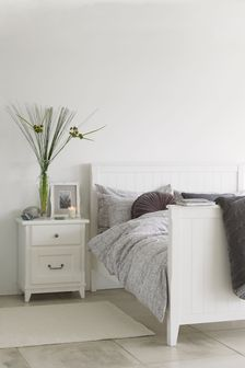 Devon White Bed Frame by Laura Ashley
