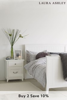 Devon White Bed Frame by Laura Ashley