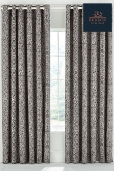 Bedeck of Belfast Dhaka Eyelet Curtains