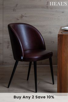 Austen Leather Dining Chair By HEAL'S