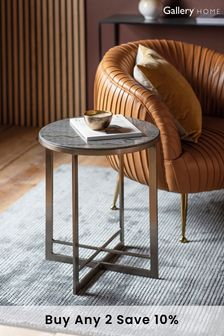 Necton Silver Side Table By Hudson Living