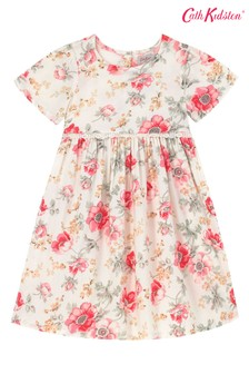Cath Kidston® Cream Lindfield Meadow Boho Dress