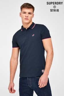 Superdry Sportstyle Twin Tipped Polo Shirt