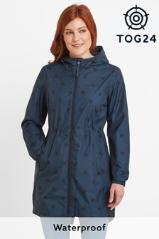 Tog24 Blue Kilnsey Polka Dot Jacket