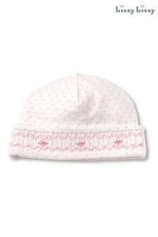 Kissy Kissy White/Pink Summer Hat