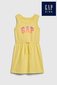 Gap Yellow Tank Dress
