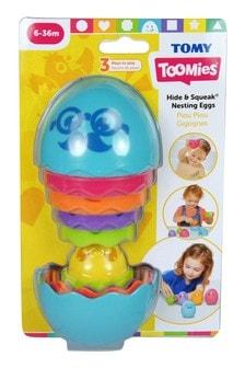TOMY Toomies Hide & Squeak Nesting Eggs