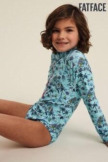 FatFace Mild Mint Resort Print Swimsuit