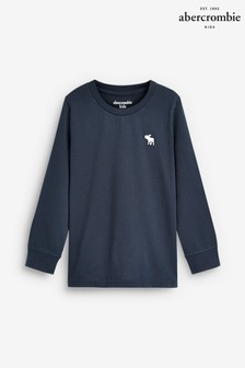 Abercrombie & Fitch Navy Basic T-Shirt