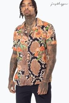 Hype. Floral Hiss Men's Shirt