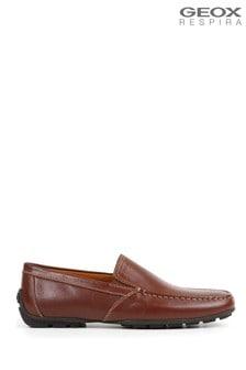 Geox Men's Omo Moner Coffee Shoes