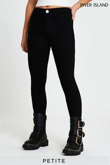 River Island Petite Black Molly Jeans