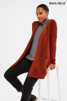 White Stuff Red Cosy Cardigan