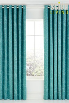 Scion Baja Lined Eyelet Curtains