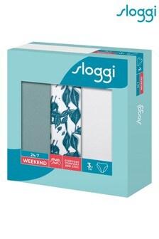 Sloggi Floral 24/7 Weekend Tai Briefs 3 Pack
