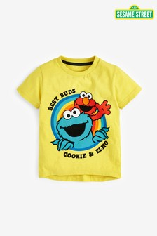 Cookie And Elmo T-Shirt (3mths-8yrs)