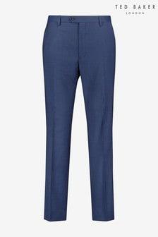Ted Baker Franct Debonair Slim Fit Wool Trousers
