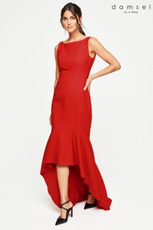 Damsel In A Dress Red Leela Maxi Dress