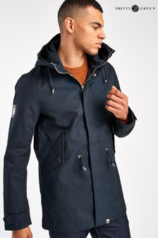 Pretty Green Bonded Cotton Hooded Parka