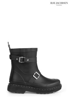 Ilse Jacobsen Hornbk Black Short Wellies