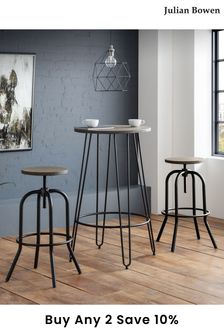 Spitfire Industrial Stool By Julian Bowen