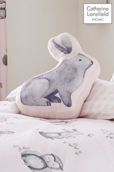 Woodland Friends Bunny Cushion by Catherine Lansfield