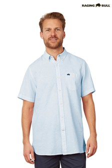 Raging Bull Sky Blue Signature Short Sleeve Shirt