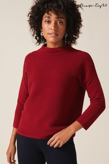 Phase Eight Rust Rosemary Relaxed Ripple Knit