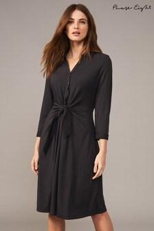 Phase Eight Grey Sierra Shirt Dress