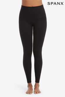 SPANX Medium Control Black Look At Me Now Leggings