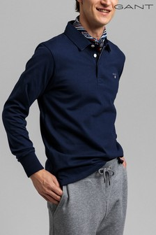 GANT Blue Original Heavy Rugger Shirt