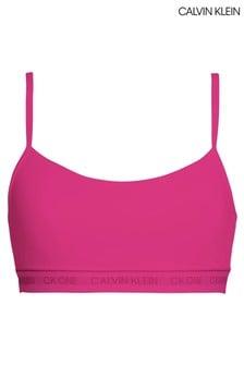 Calvin Klein Pink CK One Cotton Unlined Bralette