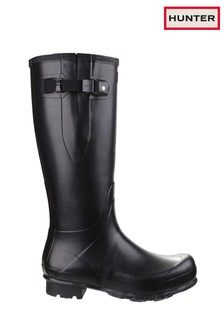 Hunter Black Norris Adjustable Field Boots