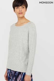 Monsoon Grey Alexandra Jumper