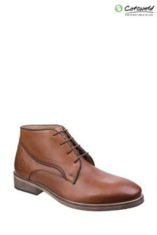 Cotswold Tan Maugesbury Ankle Boots