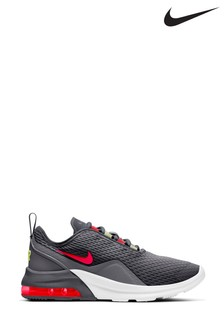 Nike Charcoal/White Air Max Motion Youth Trainers