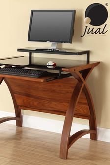 Helsinki 900 Walnut Desk by Jual