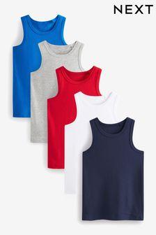 5 Pack Vests (1.5-16yrs)