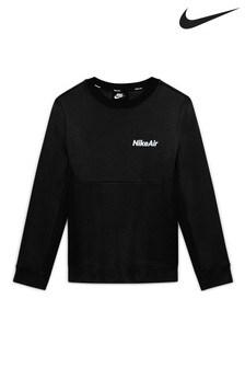Nike Black Air Crew Sweater