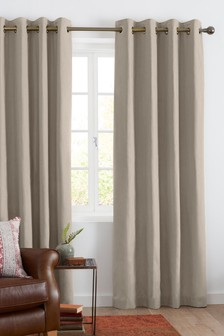 Unlined Cotton Curtains