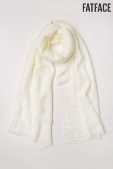 FatFace Natural Poppy Scarf