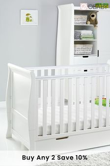 Obaby Stamford Classic  3 Piece White Furniture