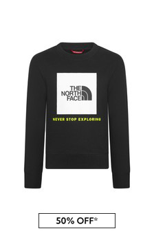 The North Face Black Sweat Top