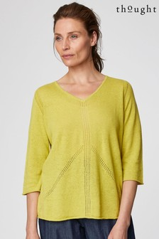 Thought White Ethel Jumper