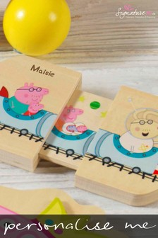 Personalised Peppa Pig™ Pull And Play by Signature PG