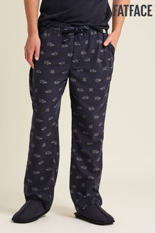 FatFace Blue Land Rover Print Joggers