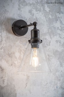 Hoxton Cone Wall Light by Garden Trading