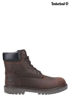 Timberland® Pro Brown Iconic Safety Toe Work Boots