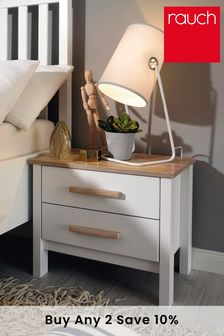 Fargo 2 Drawer Bedside