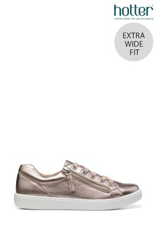 Hotter Chase Extra Wide Fit Lace Up/Zip Deck Shoes